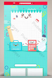 Cool stationery items home Desk Cute Cartoon Hand Drawn Stationery Items Home Background Theanvolyzer Cute Cartoon Hand Drawn Stationery Items Home Backgroundbackgrounds