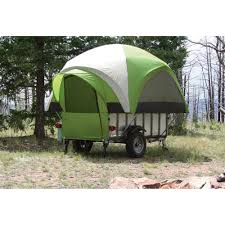littlegiant treehaus camper tent and utility trailer