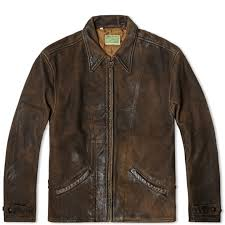 levi s vintage 1930s menlo leather jacket brown 8