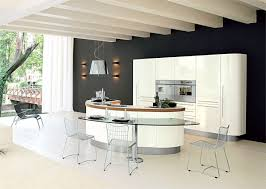 modern curved kitchen island. 16 Divine Modern Kitchen Designs With Curved Island V