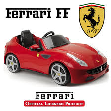 Feber Licensed Official Red Ferrari Ff Kids Car