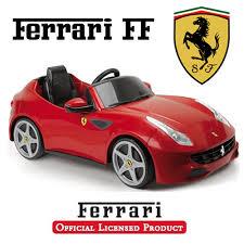 Feber Licensed Official Red Ferrari Ff Kids Car