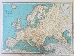 Europe Map British Isles Map Ireland Scotland England Spain