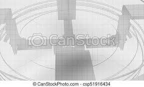 Graph Paper Looking Abstract Geometric Cg Background Geometric