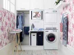 Hanging Clothes Small Laundry Room