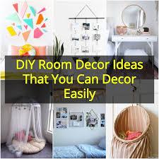diy room decor ideas that you can decor