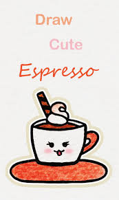 Realistic pencil drawings art drawings for kids art drawings sketches easy drawings drawing ideas kawaii doodles kawaii drawings pencil art download this coffee, water vapor, cup, cartoon png clipart image with transparent background or psd file for free. Learn How To Draw So Cute Espresso Easy Step By Step Kawaii Tutorial Kawaii Drawing Tutorial Espresso Cute Easy Drawings Cute Doodle Art Easy Drawings