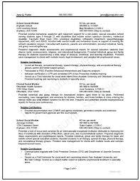Social Work Resume Extraordinary Resume Examples For Social Work Students Resume Examples Social