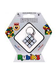 """<b>Брелок</b> """"Мини-Кубик Рубика 3х3"""", работающий <b>Rubik's</b> 8787604 в ..."""