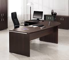 painted office furniture. Black Color Furniture Office Counter Design. Full Size Of Desk, Interesting L Shaped Chocolate Painted
