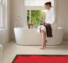 Heated Bathroom Floor Cost Interesting Underfloor Heating For Your Bathroom Warmup UK