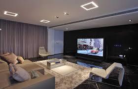 gallery living room theater elegant design