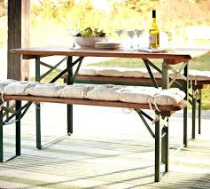 outdoor folding bench seat tavern rectangular fixed folding dining table and bench set pertaining to outdoor outdoor folding