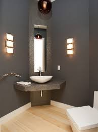 unique vanity lighting. Unique Bathroom Vanity Lights Cool Small Design Decorated With Concrete Material Picture 52 Lighting