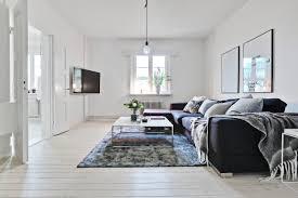 Interieur Ideeen Woonkamer Wit Minimalistische Klein Appartement Van