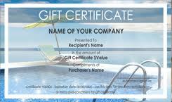 Cruise Gift Certificate Template Certificate Templates Cruise Travel Gift Certificate