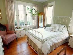 Small Armchair For Bedroom Bedroom Stunning Small Country Bedroom Interior With Metal Bed