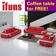 living room furniture sectional sets. IFUNS Modern Leather Sectional Sofa Set Living Room Furniture Genuine Luxury Sets 1- T
