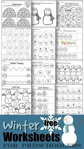One of the biggest hits with readers has been our. Free Winter Worksheets For Preschoolers