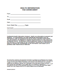 Sample Professional Fax Cover Sheet Template