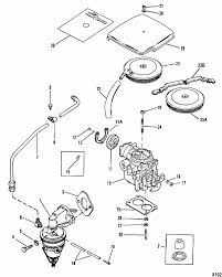 mercruiser lx gm i l fuel pump carburetor parts engine section