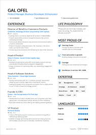 Modern Resume Sheet A Powerful One Page Resume Example You Can Use