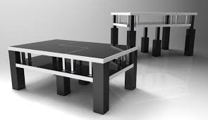 Space Saving Coffee Table Tridesk Space Saving Furniture By Ferman Vong At Coroflotcom