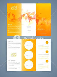 Presentation Trifold Business Tri Fold Brochure Templates Free Creative Template Or Flyer