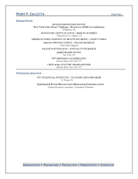 Chef Resume Sample Chef Resume 55