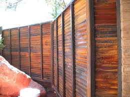 corrugated metal fence fence perfect corrugated metal fence luxury best fence materials images on and modern