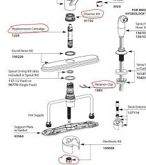 glacier bay faucet diagram unique moen kitchen faucet diverter removal kitchen faucet