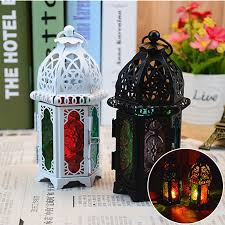moroccan lantern chandelier tea light votive candle holder hanging home decor