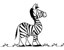 Disegno Di Zebra Africana Da Colorare Acolorecom