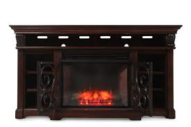 Ashley Alymere Entertainment Stand with Fireplace