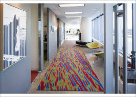office colour design. Jerilyn Wright And Associates Are Not Afraid To Apply Colour, Even A Corporate Office Setting. This Carpet Adds Pop Colour Also Provides Sense Design