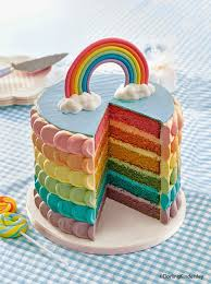 You See That Fabulous Rainbow Cake Above Full Disclaimer Its Not