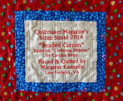 74 best Quilt Labels images on Pinterest | Good ideas, Crafts and ... & Machine embroidered quilt label by Margaret Kennedy for her latest Scrap  Squad quilt. It's a Adamdwight.com