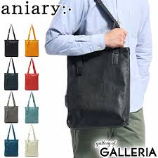 aniary tote aniary tote bag crossing leather crossing leather tote a4 vertical zipper 2way shoulder genuine