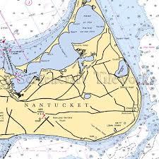 Massachusetts Siasconset Nantucket Nautical Chart Decor