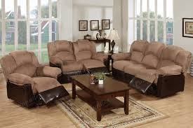 Microfiber Living Room Chairs Brown Living Room Furniture Sets Educartinfo For