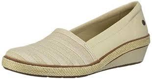 Grasshoppers Womens Blaise Wedge Stripe Gore Sneaker