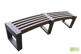 recycled plastic benches british
