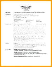 Volunteer Work Resume Examples Resume Template For Volunteer Work