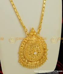 trendy single stone big pendant with
