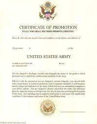 certificate of promotion template da 4872 certificate of promotion template da form 4872