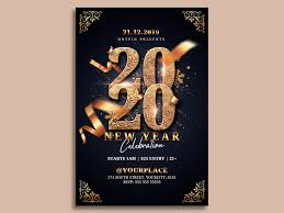 new year s template new year eve party flyer template by hotpin on dribbble