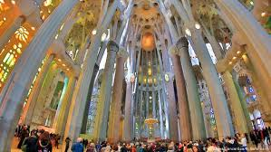 Book a guided tour it is considered to be the best example of modernist architecture designed by antoni gaudí and every day thousands of tourists explore this curious but unfinished. Barcelona S La Sagrada Familia Gets Building Permit After 137 Years News Dw 08 06 2019