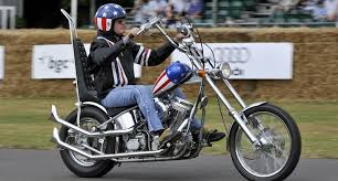 iconic captain america chopper from easy rider auctioned off