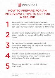 Questions To Ask On Work Experience How To Prepare For An Interview 5 Tips To Get You A F B Job