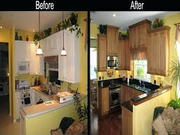 kitchen remodel ideas before and after galley kitchen remodel before and after on a budget